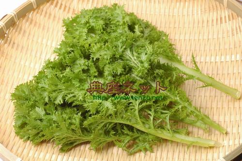ニューフェイス野菜 「わさび菜」を使った精進料理