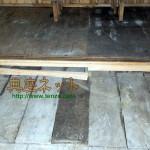 お堂の床を住職自ら改修_その1