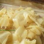 新生姜の甘酢漬_地味な料理こそ重要