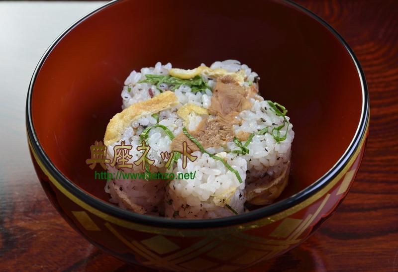 梅味噌ご飯