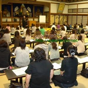 永平寺にて食育講演