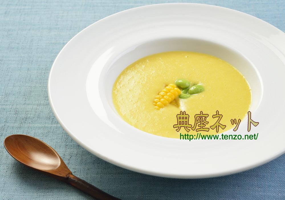 精進とうもろこしスープ