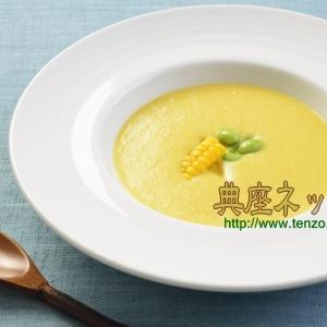 とうもろこしの精進スープ