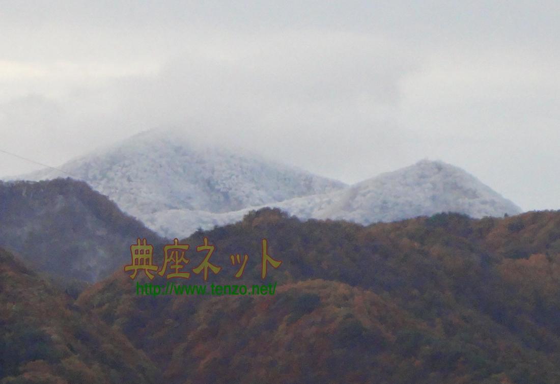 11月上旬の雪