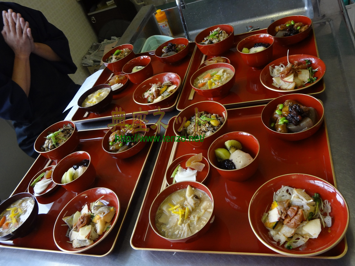 真言宗僧侶と精進料理教室