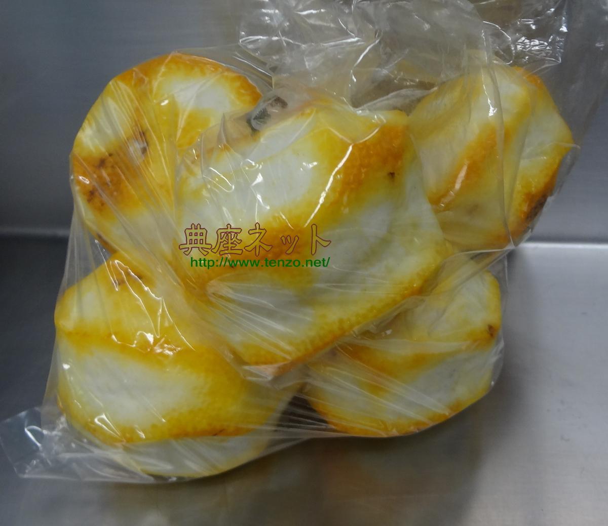 柚子皮の蜂蜜漬