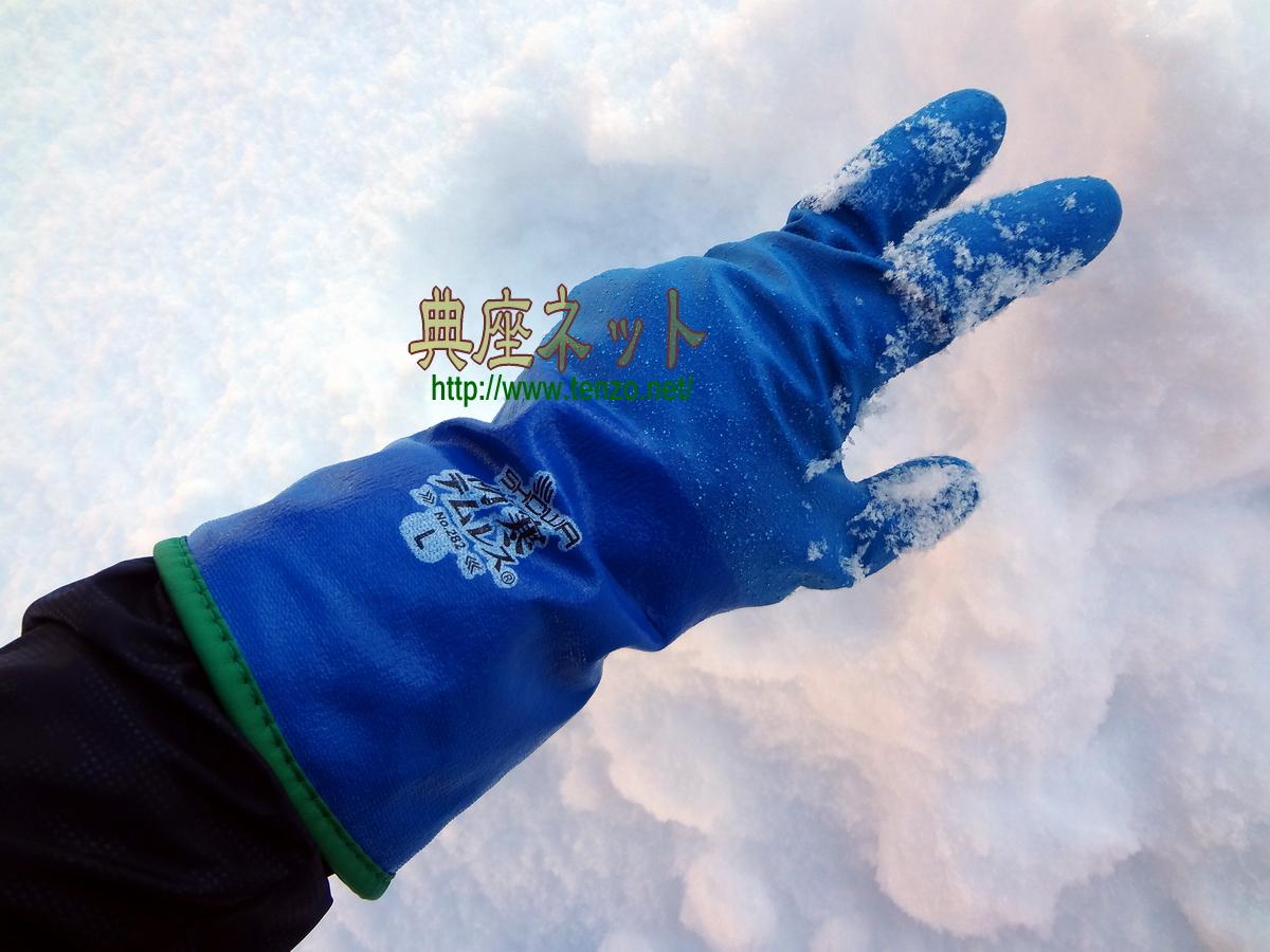 防寒テムレス手袋
