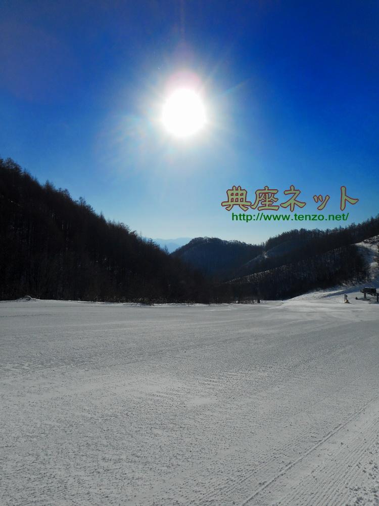 今季の雪も最高_片品村のスキー場