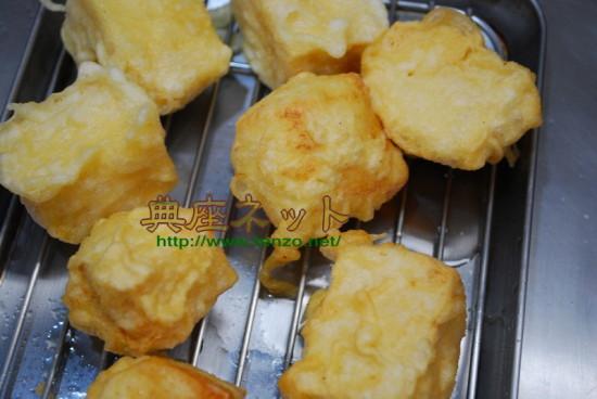 冷凍豆腐の唐揚