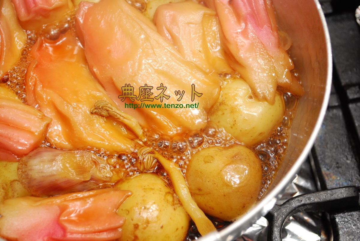 うどと小芋の田舎煮