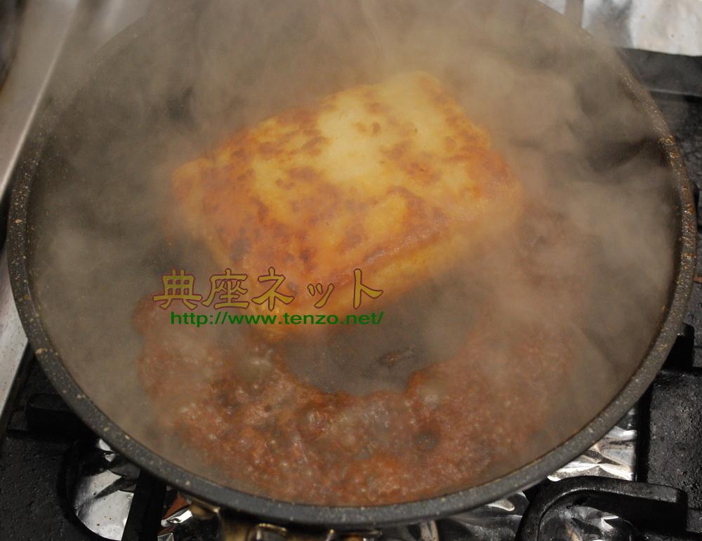 豆腐ステーキ丼_豆腐うなぎ_もどき精進料理