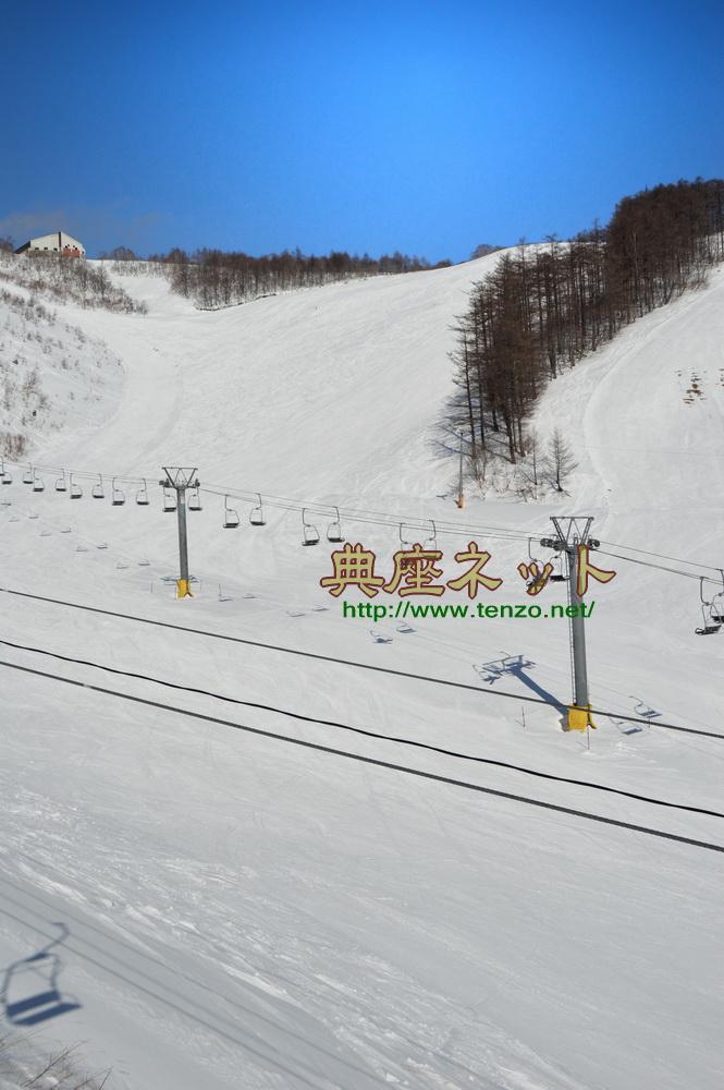スキー場のコンディションはベスト