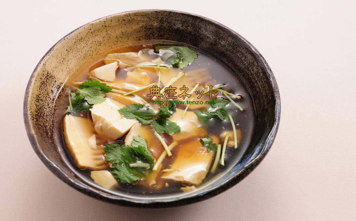タケノコと豆腐のくずとき汁_春彼岸の精進料理
