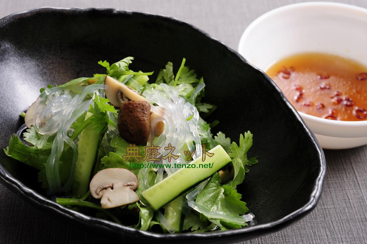 パクチー精進料理レシピ