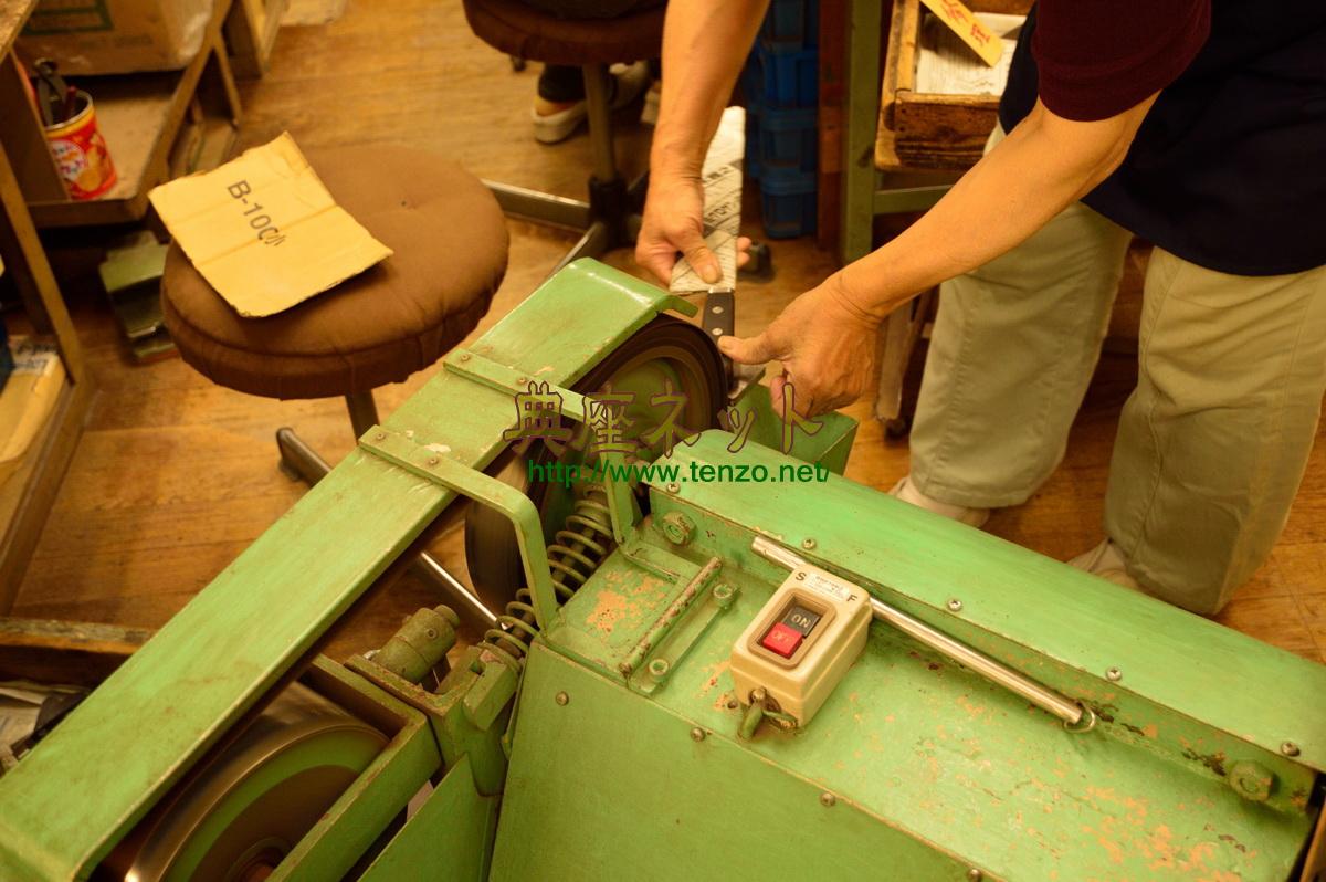 堺の包丁工場職人さん見学
