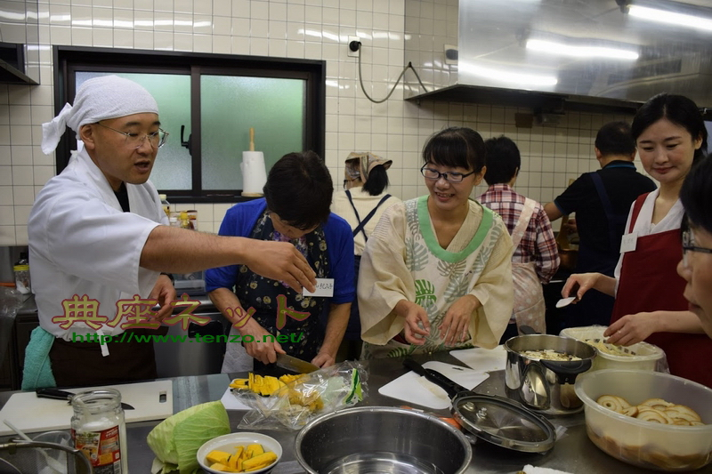 軽井沢精進料理教室